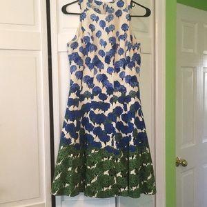 Unique floral dress